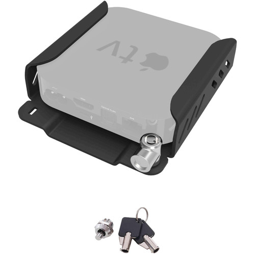 Maclocks Security Mount for the 2015 Apple TV with Extra Key Kit