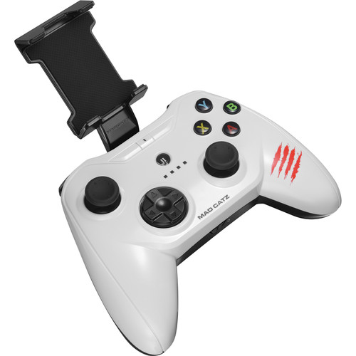 Mad Catz C.T.R.L.i Mobile Gamepad for iPod/iPhone/iPad (Glossy White)