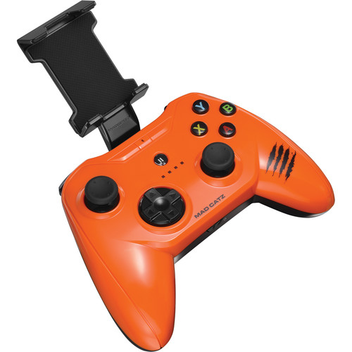 Mad Catz C.T.R.L.i Mobile Gamepad for iPod/iPhone/iPad (Glossy Orange)