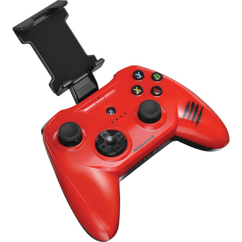Mad Catz C.T.R.L.i Mobile Gamepad for iPod/iPhone/iPad (Glossy Red)