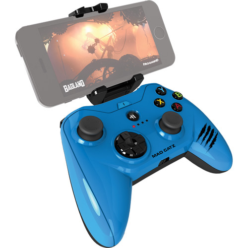 Mad Catz Micro C.T.R.L.i Mobile Gamepad for iPod/iPhone/iPad (Glossy Blue)