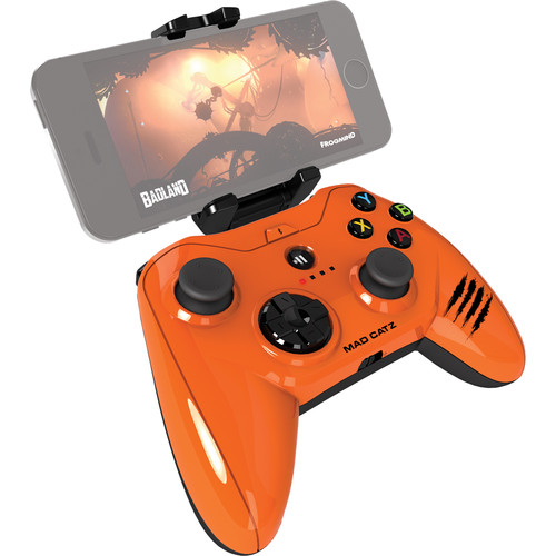 Mad Catz Micro C.T.R.L.i Mobile Gamepad for iPod/iPhone/iPad (Glossy Orange)