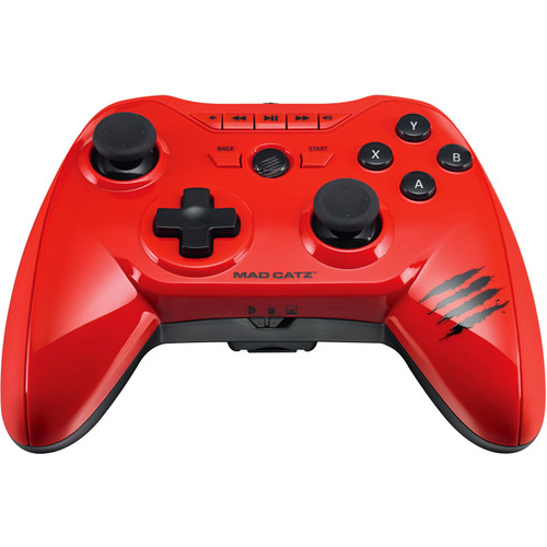 Mad Catz Micro C.T.R.L.R Mobile Gamepad for Android/Fire TV/PC/Mac/M.O.J.O. (Glossy Red)