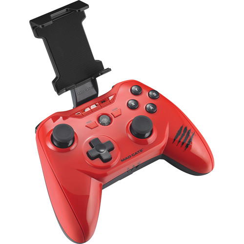 Mad Catz C.T.R.L.R Mobile Gamepad with Dual-Mode Bluetooth 4.0 (Glossy Red)