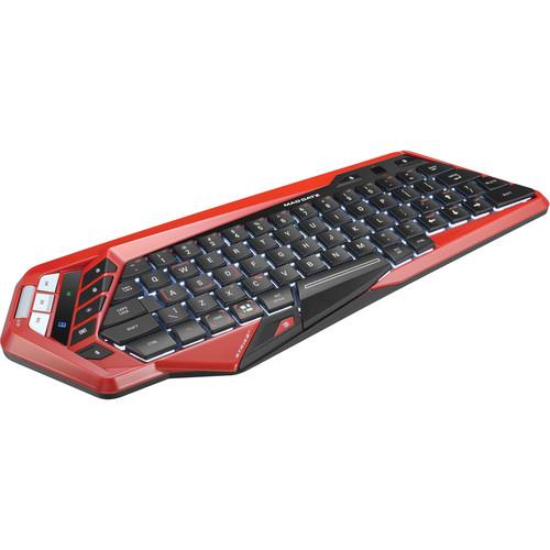 Mad Catz S.T.R.I.K.E. M Wireless Keyboard (Red)
