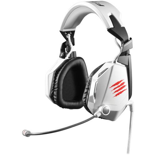 Mad Catz F.R.E.Q. 7 Surround Sound Gaming Headset (White)