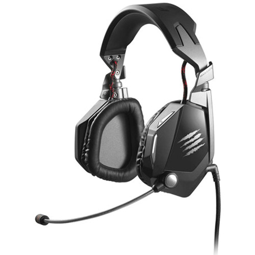 Mad Catz F.R.E.Q. 5 Stereo Gaming Headset for PC and Mac (Black)