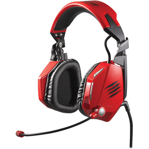 Mad Catz Cyborg F.R.E.Q. 5 Stereo Gaming Headset (Red)