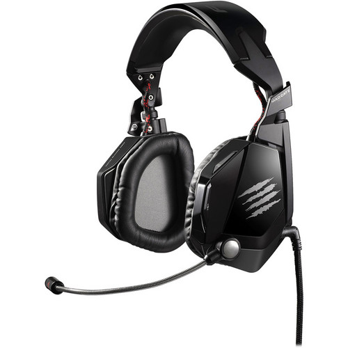 Mad Catz Cyborg F.R.E.Q. 5 Stereo Gaming Headset (Gloss Black)