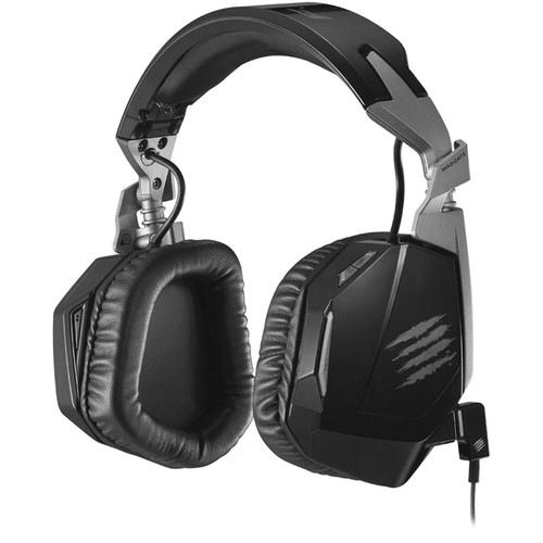 Mad Catz F.R.E.Q. 4D Stereo Gaming Headset for PC/Mac/Smart Devices (Black)