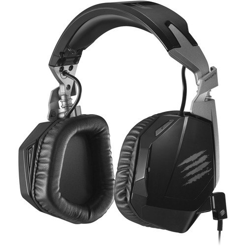 Mad Catz F.R.E.Q. 3 Stereo Gaming Headset for PC/Mac/Smart Devices (Black)