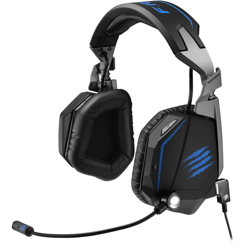 Mad Catz F.R.E.Q. Tournament Edition Stereo Gaming Headset (Gloss Black)