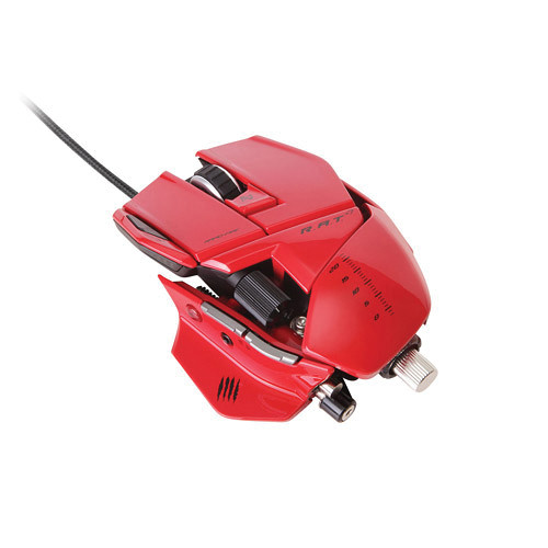 Mad Catz R.A.T. 7 Wired Gaming Mouse for Windows and Mac (Red)