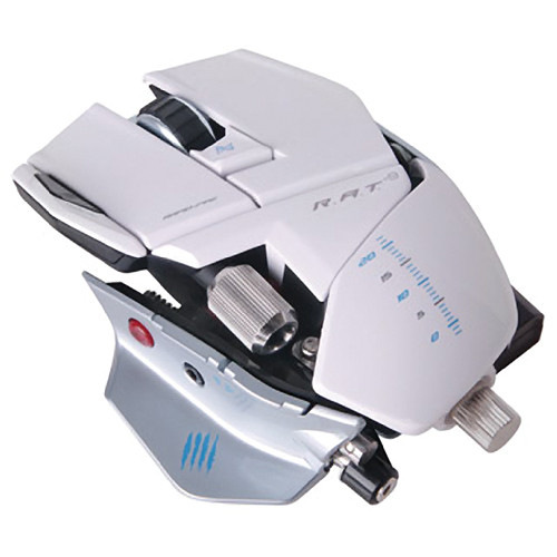 Mad Catz R.A.T. 9 Wireless Gaming Mouse for PC and Mac (White)
