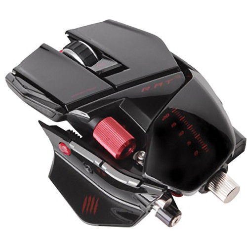 Mad Catz R.A.T. 9 Wireless Gaming Mouse for PC and Mac (Gloss Black)