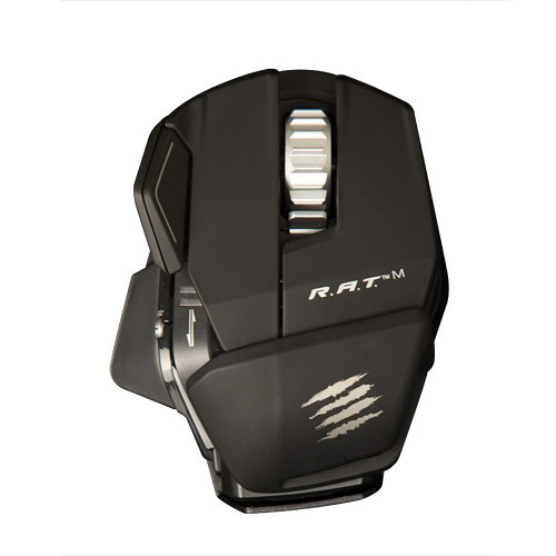 Mad Catz R.A.T. M Wireless Mobile Gaming Mouse (Matte Black)