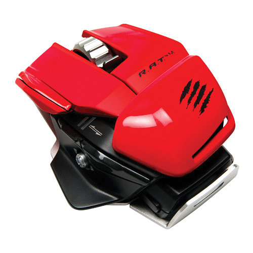 Mad Catz R.A.T. M Wireless Mobile Gaming Mouse (Red)