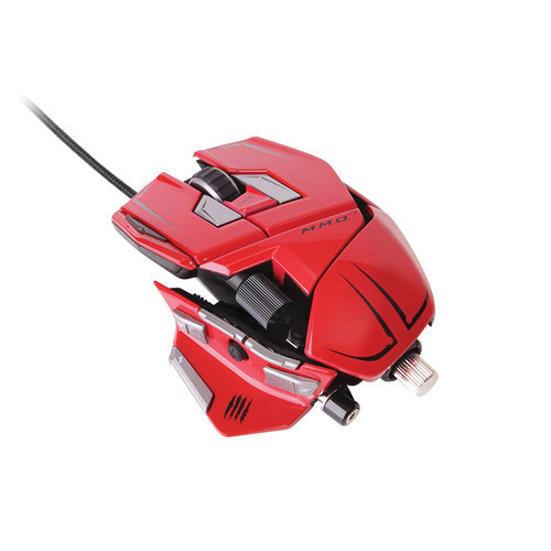 Mad Catz M.M.O. 7 Gaming Mouse (Red)