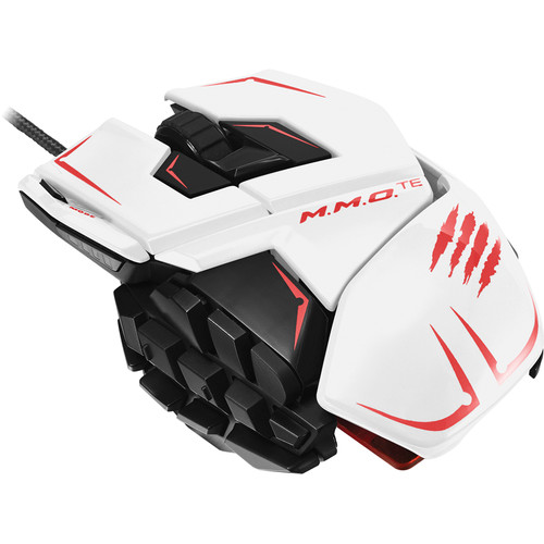 Mad Catz M.M.O. TE Gaming Mouse (White)