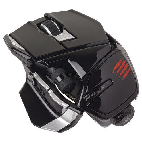 Mad Catz M.O.U.S. 9 Gaming Mouse (Glossy Black)