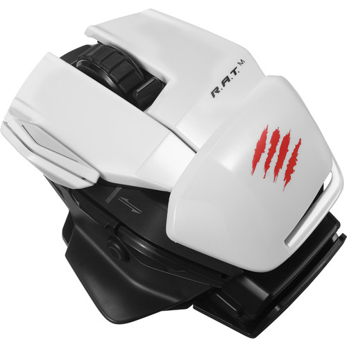 Mad Catz Office R.A.T. M Wireless Optical Mouse (White)