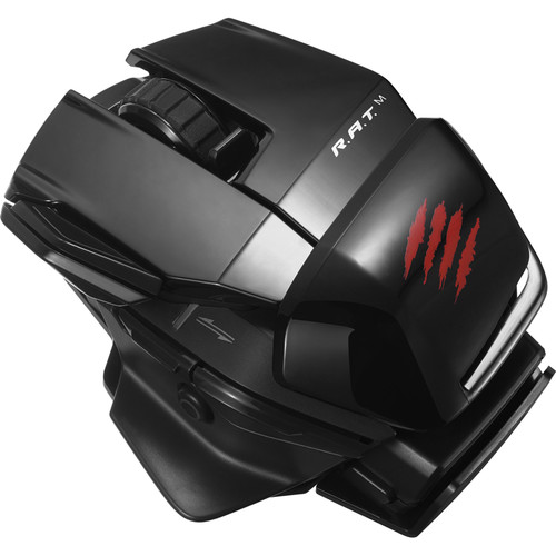 Mad Catz Office R.A.T. M Wireless Optical Mouse (Glossy Black)