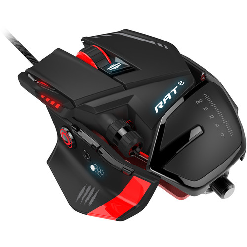 Mad Catz RAT 6 Laser Wired Gaming Mouse