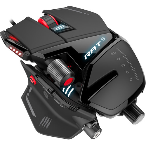 Mad Catz RAT 8 Optical Wired Gaming Mouse