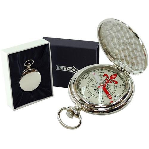 Treknor Pocket Compass (Silver)