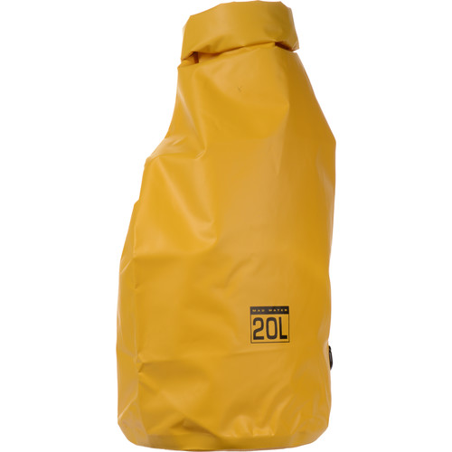 Mad Water Classic Roll-Top Waterproof Dry Bag (20L, Yellow)