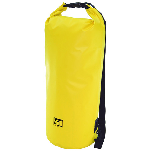 Mad Water Classic Roll-Top Waterproof Dry Bag (40L, Yellow)