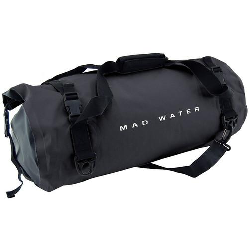 Mad Water Classic Roll-Top Waterproof Duffel Bag (30L, Black)