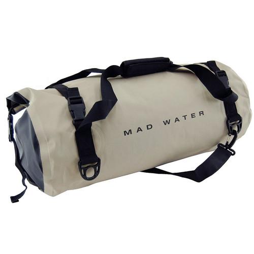 Mad Water Classic Roll-Top Waterproof Duffel Bag (30L, Khaki)