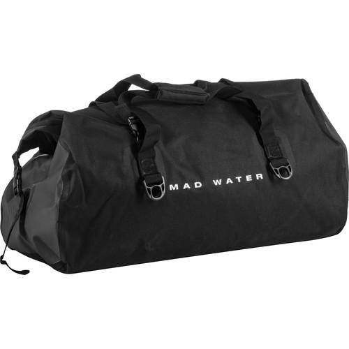 Mad Water Classic Roll-Top Waterproof Duffel Bag (60L, Black)