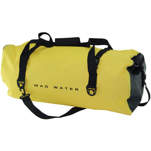 Mad Water Classic Roll-Top Waterproof Duffel Bag (60L, Yellow)