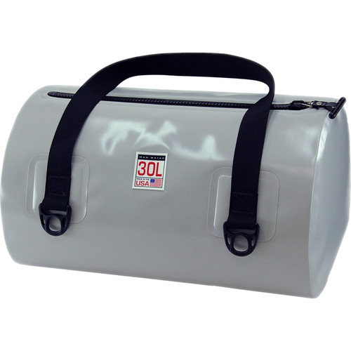Mad Water Waterproof USA Duffel (30 Liters, Cool Gray)