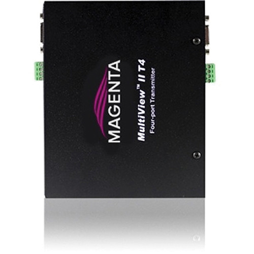 Magenta Voyager MultiView II T4-A Video & Left/Right Summed Audio Transmitter