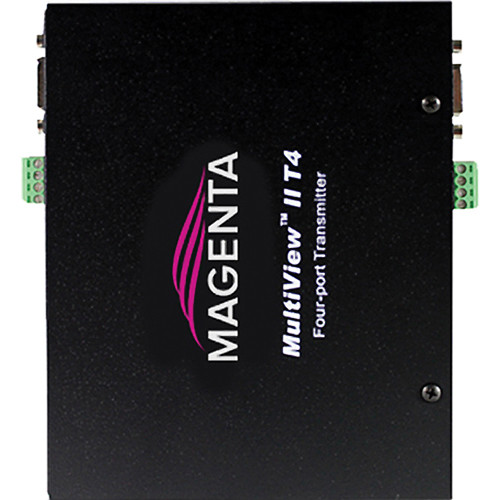 Magenta Research MultiView II T4-S Video & Transmit Only Serial Transmitter