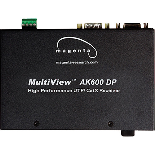 Magenta Research MultiView II AK600DP-SAP Video, Stereo Audio & Addressable Duplex Serial UTP CATX Receiver