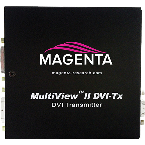 Magenta Research MultiView II DVI-TX-A Video & Left/Right Summed Audio Transmitter