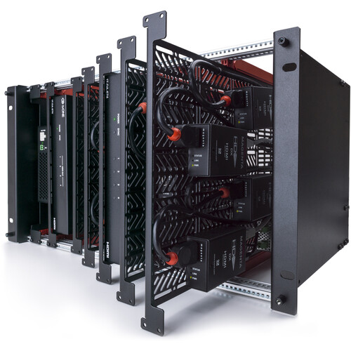 TV One ONErack Mounting Kit with Chassis, 6 Modules, & 250W Power Supply (4 RU)