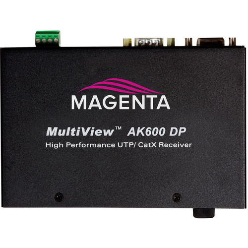 Magenta Voyager Multiview II AK600 VGA/Analog Receiver with Duplex Serial & Stereo Audio (600')