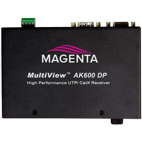 Magenta Multiview II AK600 VGA/Analog Receiver with Duplex Serial, Stereo Audio & AkuComp II (600')