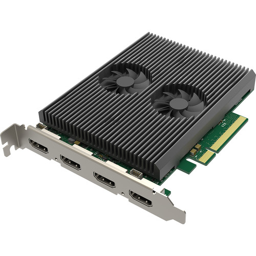 Magewell PCIe x8 Two-Channel 4K Capture Card