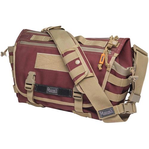 Magforce Sketch Messenger Bag M (Maroon Khaki)