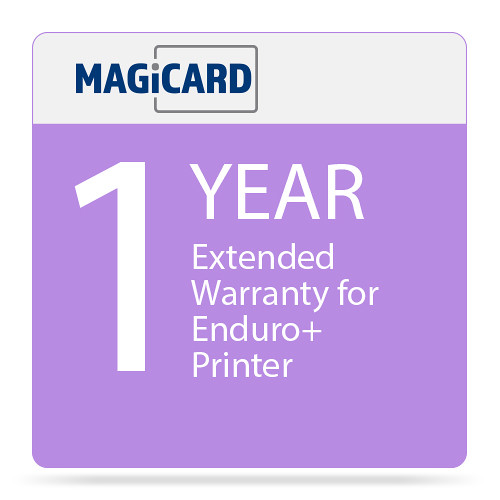 Magicard One Year Extended Warranty for Enduro+ Printer