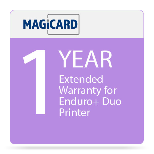 Magicard One Year Extended Warranty for Enduro+ Duo Printer