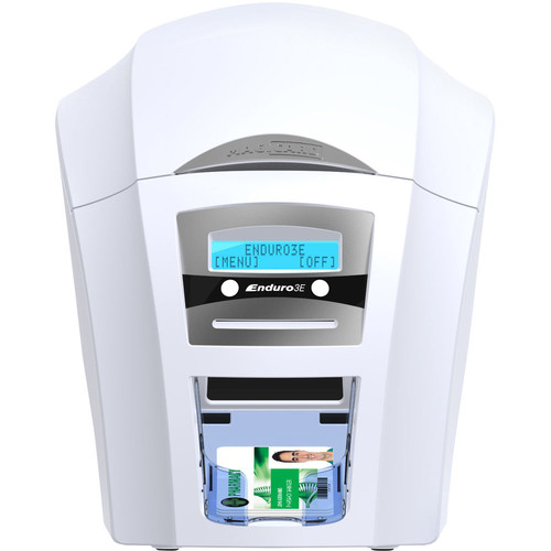Magicard Enduro3E Mag Smart ID System for Magicard Enduro3E Single-Sided ID Card Printer with Magnetic Stripe and Smart Chip Encoder