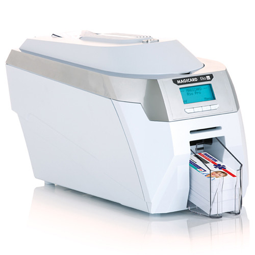 Magicard Rio Pro Mag Smart ID System for Magicard Rio Pro Dual-Sided ID Card Printer with Magnetic Strip and Smart Chip Encoder