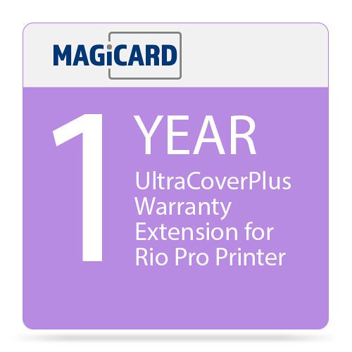 Magicard 1-Year UltraCoverPlus Warranty Extension for Rio Pro ID Card Printer